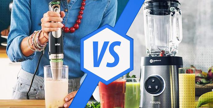 Blender kielichowy czy ręczny - Co wybrać?