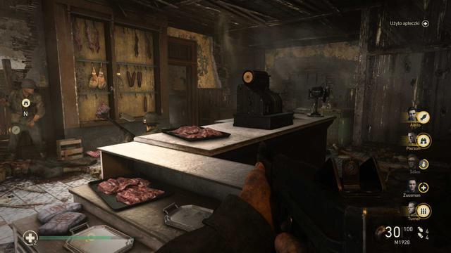 Call of Duty: WWII - Wizyta w mięsnym