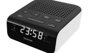 SENCOR SRC 136 WH Radiobudzik, wyświetlacz LED, prog. 20 stacji FM