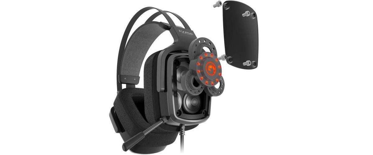 Słuchawki Marvo posiadają trzy przetworniki