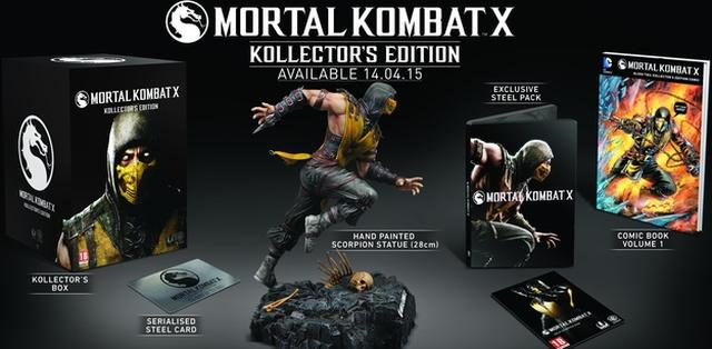 Mortal Kombat X W Dwóch Wersjach Kolekcjonerskich