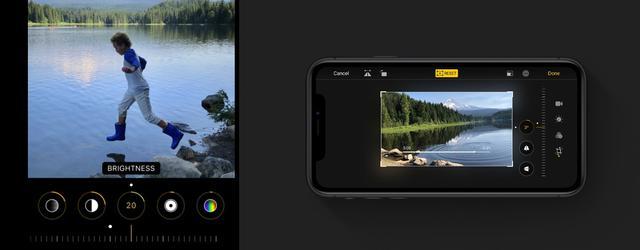 iOS 13 zaoferuje zaawansowaną edycję fanom filmografii