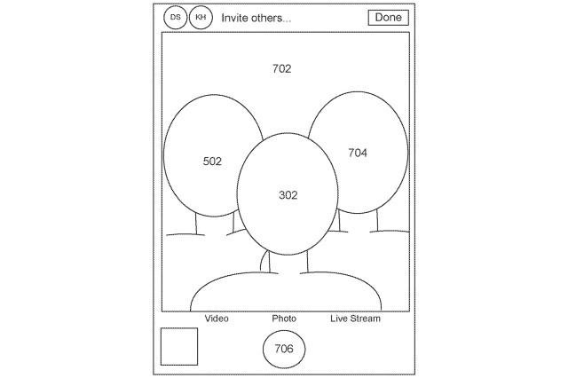 Patent Apple'a na zdalnie wykonywane selfie