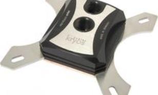 Aqua-Computer cuplex kryos Delrin for Socket 1366/1156/775. G1/4