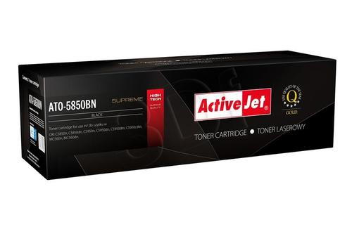 ActiveJet ATO-5850BN czarny toner do drukarki laserowej OKI (zamiennik 43865724) Supreme