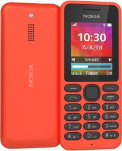 Nokia 130 Dual Sim Czerwony (A00021279)