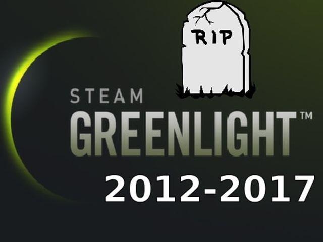 RIP SteamGreenlight