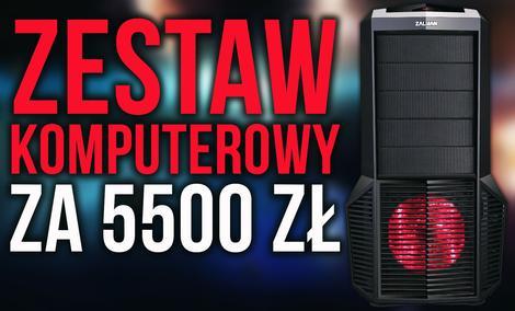 Zestaw Komputerowy z AMD Ryzen 7 za 5500 zł