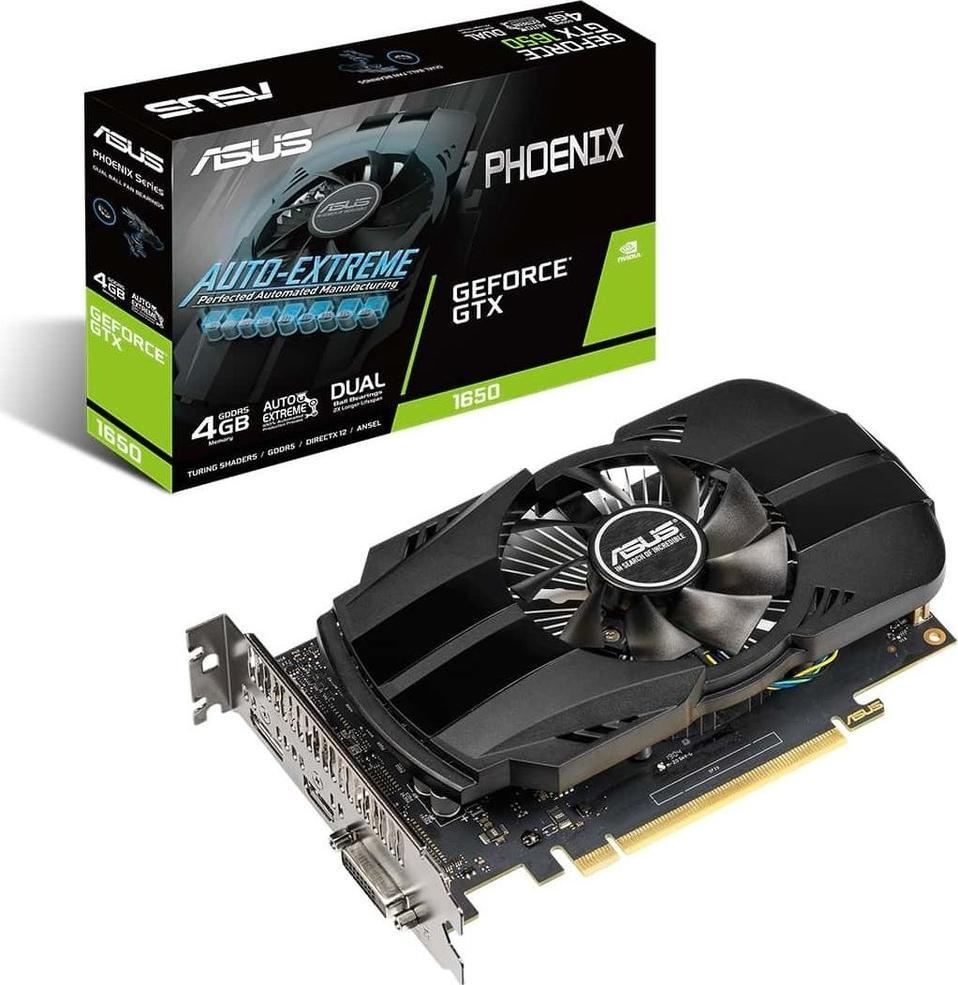 Asus GeForce GTX 1650 PH 4G 128BIT GDDR5 (PH-GTX1650-4G)