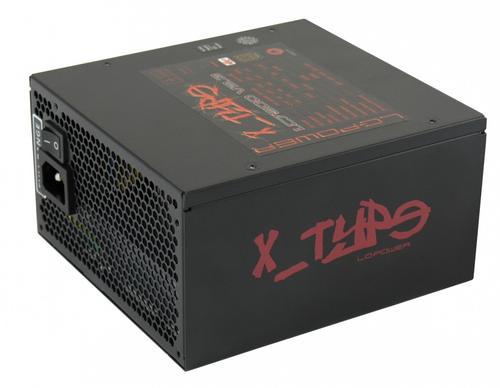 LC-Power ZASILACZ 500W LC7500 X-TYPE 80+ BRONZE V2.3 135mm 6x SATA 2x PATA 2x PCIe 8PIN EPS Active PFC Black