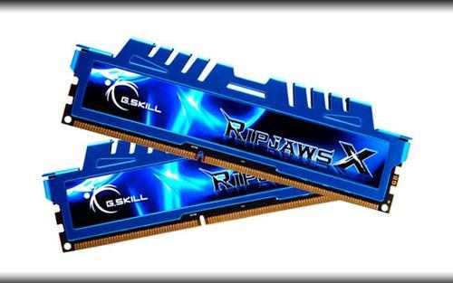 G.SKILL DDR3 8GB (2x4GB) RipjawsX 1866MHz CL8 XMP