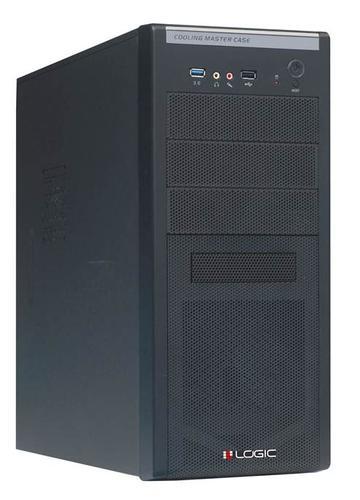 Modecom OBUDOWA KOMPUTEROWA B03 BLACK Z ZASILACZEM LOGIC 500W