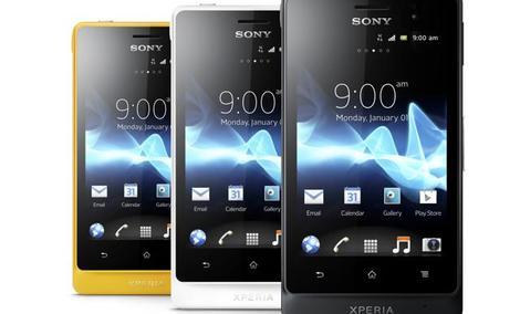 Sony przedstawia nowy, stylowy, trwały i wodoodporny smartfon - Xperia go