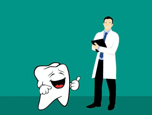 zdrowy ząb a dentysta