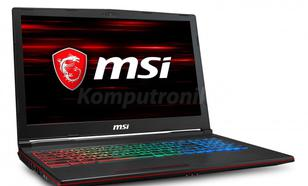 MSI GP63 Leopard 8RE-403XPL - 240GB M.2 + 1TB HDD | 32GB
