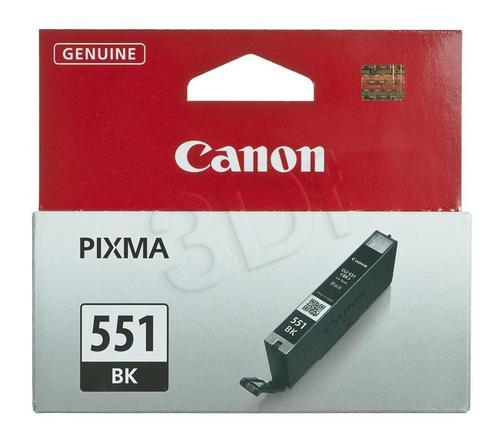 CANON Tusz Czarny CLI-551BK=CLI551BK=6508B001, 300 str., 7 ml