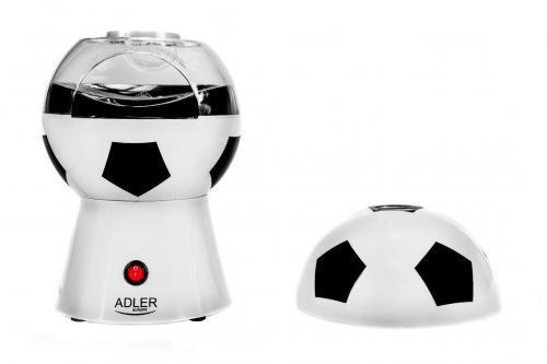 popcorn maker w kształcie piłki