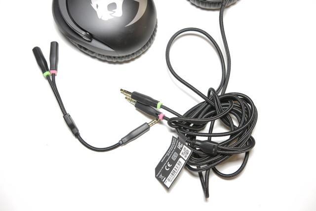 ROCCAT Khan Pro - kabel