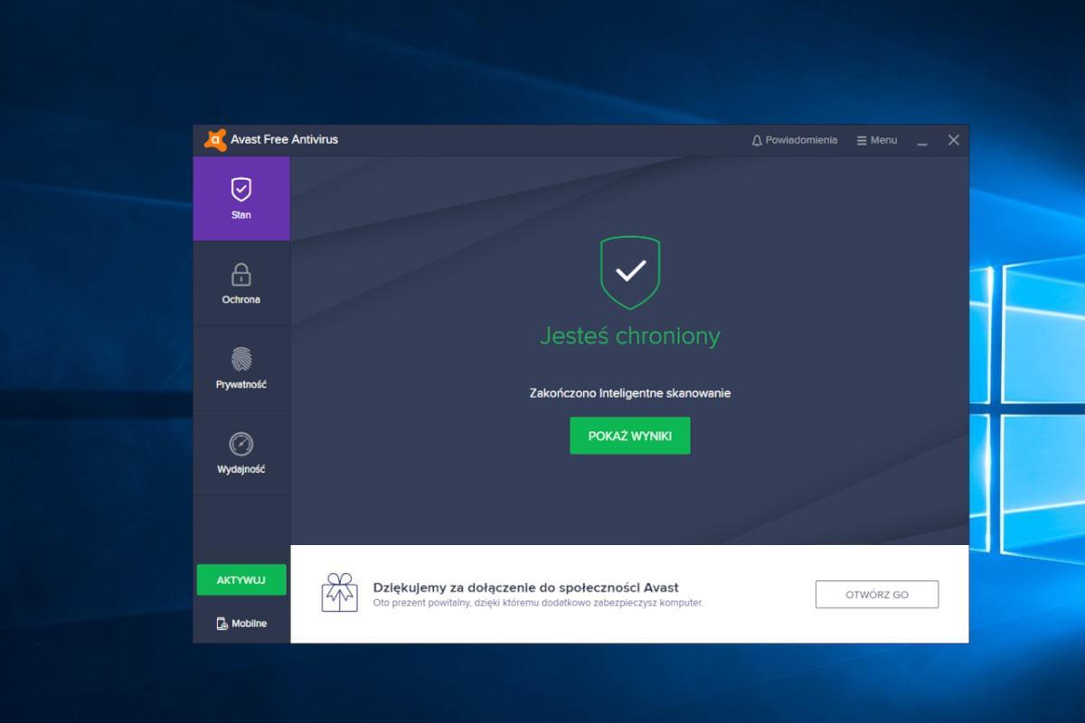 Avast pobierał informację od 100 milionów użytkowników
