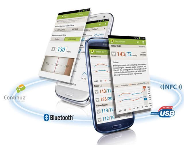 Śledź swój stan zdrowia za pomocą aplikacji Samsung S Health na GALAXY S III i GALAXY Note 10.1