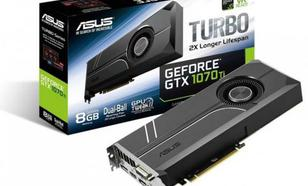 Asus GeForce GTX 1070 Ti Turbo 8GB GDDR5 (256 bit) DVI-D, HDMI, 3xDP, BOX (TURBO-GTX1070TI-8G)