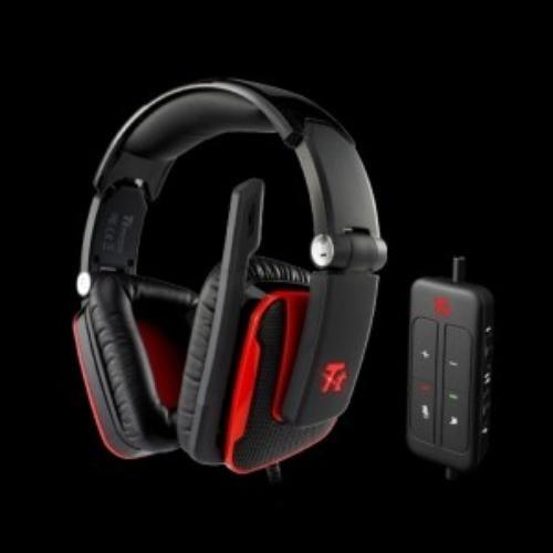 Thermaltake Tt eSPORTS Słuchawki dla graczy - Shock One DTS 5.1 CH, mikrofon