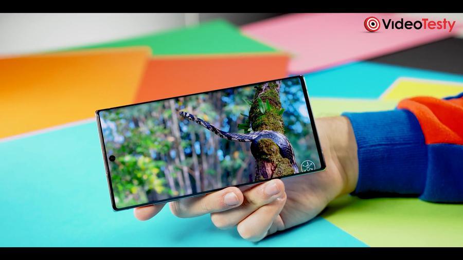 Galaxy Note 10+ posiada jeden z najlepszych ekranów na rynku
