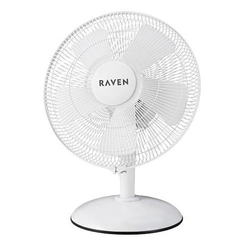 biały wentylator przenośny RAVEN EWB003