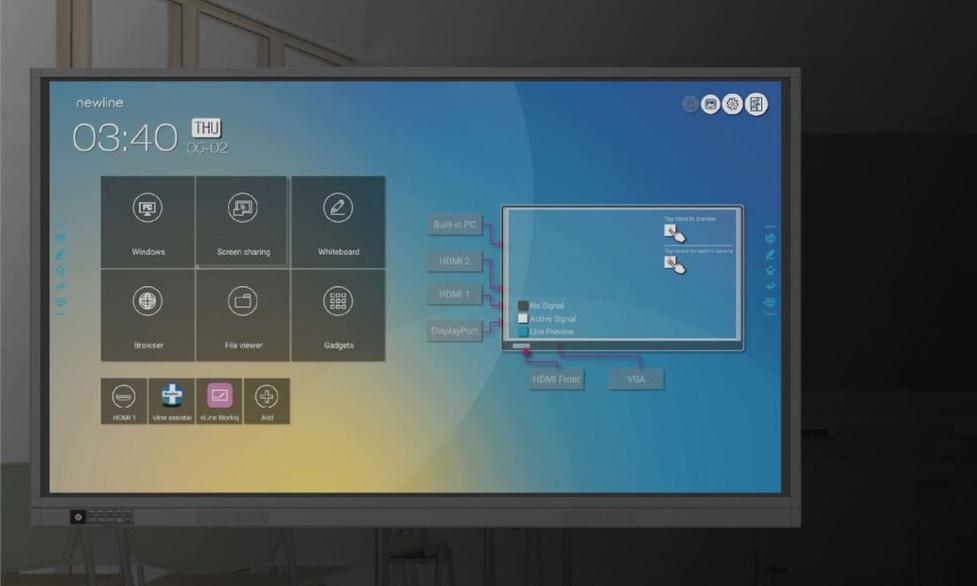 Monitory interaktywne Newline RS+ już w sklepach
