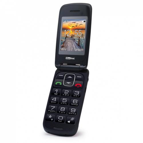 MaxCom MM 819BB CZARNY Poliphone/Big button