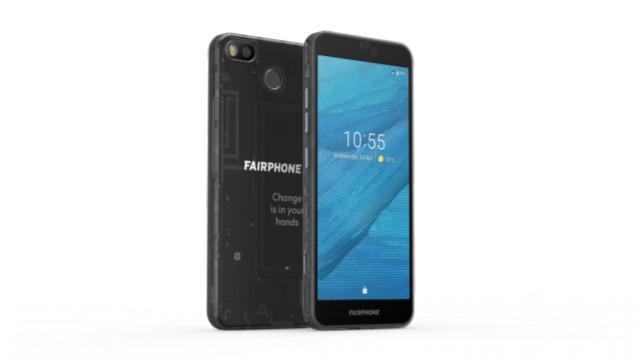 FairPhone 3 zupełnie nie wyróżnia się na tle innych smartfonów