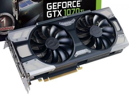 EVGA EVGA GeForce GTX 1070 Ti FTW2 Gaming iCX, 8196 MB GDDR5