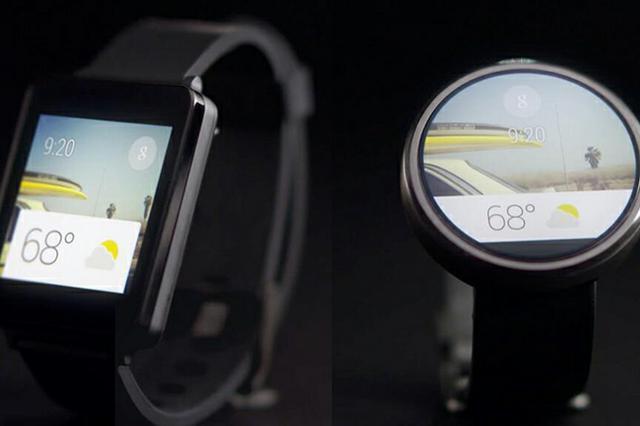 Smartwatch z systemem operacyjnym  Android Wear