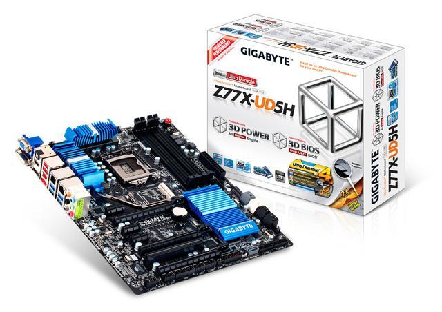 Gigabyte Z77X-UD5H [unboxing]