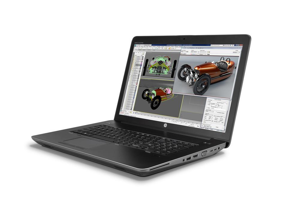 HP ZBook 17 G3 QuadCore i7-6700HQ 17,3