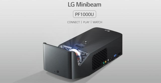 LG Minibeam PF1000U i PF1500G