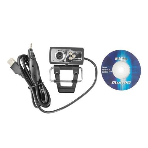 Qoltec 30Mpx Kamera internetowa Night Vision 15QT