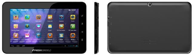 Media-Tech: tablet CASSIUS MT7004 - multimedia, telewizja, nawigacja