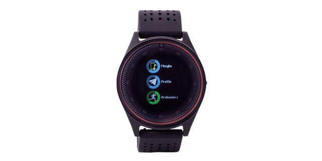 Hykker Chrono 4 design taniego smartwatcha