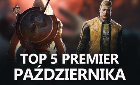 Najlepsze Premiery Gier Października 2017 – Wolfenstein II, Assassin's Creed Origins, Elex