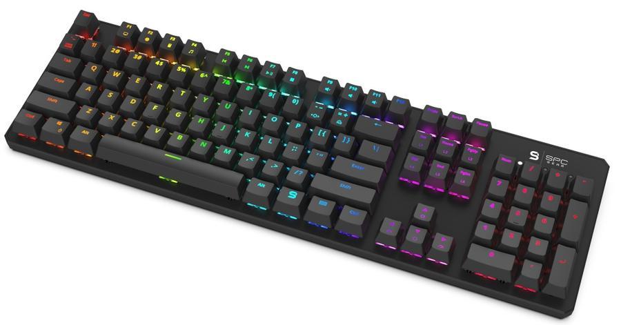 SPC Gear GK540 Magna - klawiatura mechaniczna z pełnym RGB