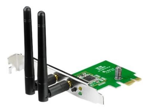 Asus PCE-N15 Karta WiFi N300 PCI-E 2xSMA (LP)