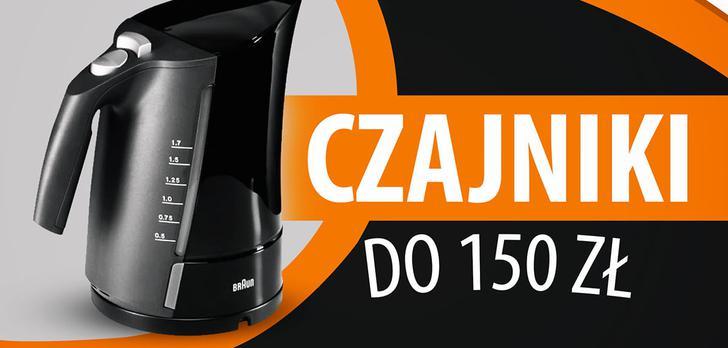 Czajniki elektryczne do 150 zł | TOP 5 |