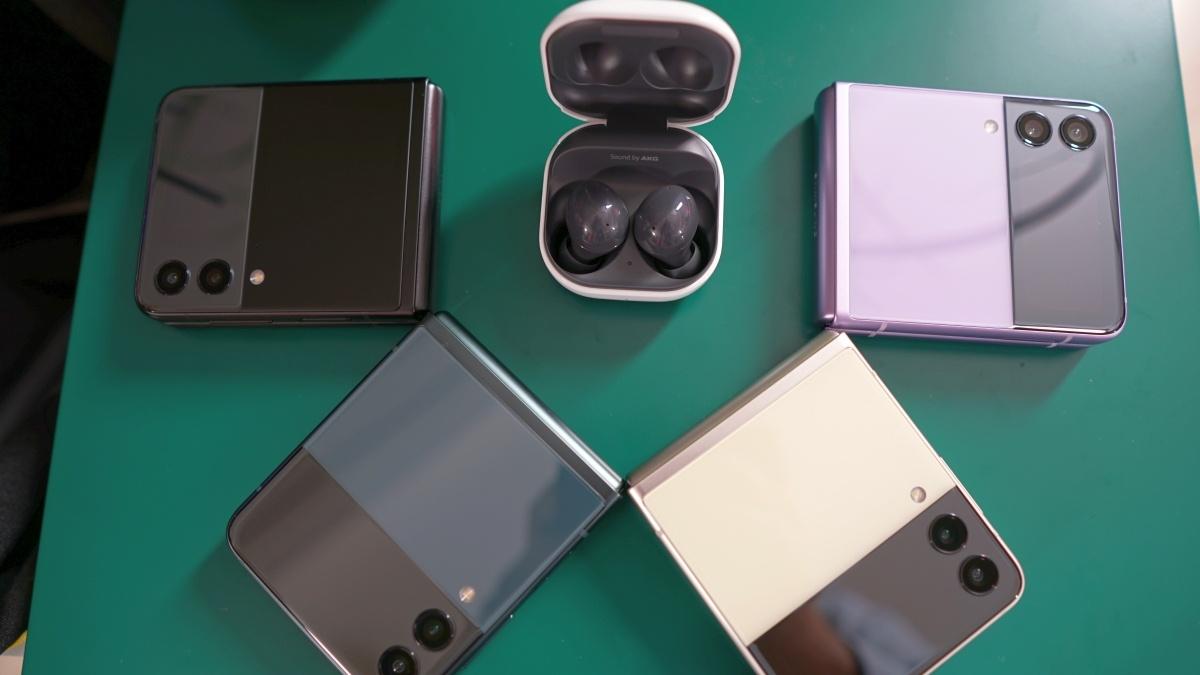 Warianty kolorystyczne Samsunga Galaxy Z Flip 3