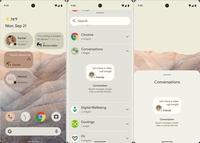 Android 12 - potencjalny wygląd systemu