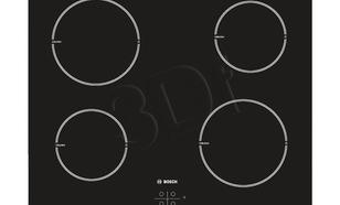 Indukcyjna 4-polowa Bosch PIA 611B68E (Czarny)