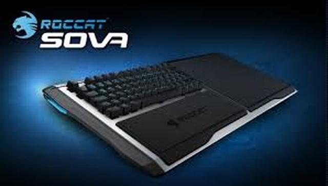 ROCCAT Sova - gamingowa klawiatura połączona z podkładką
