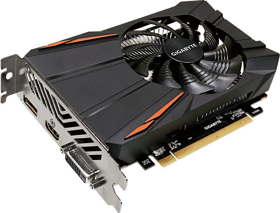 Gigabyte Radeon RX 550 D5 2GB GDDR5 (128 bit), DVI-D, HDMI,