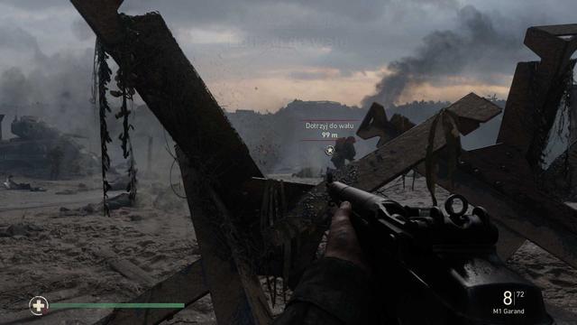 Call of Duty: WWII - Lądowanie na plaży Omaha