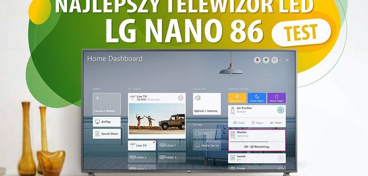Test telewizora LG 49NANO863NA - Sprawdzamy nowy model NanoCell!
